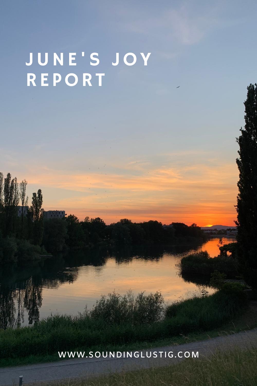 June's joy report