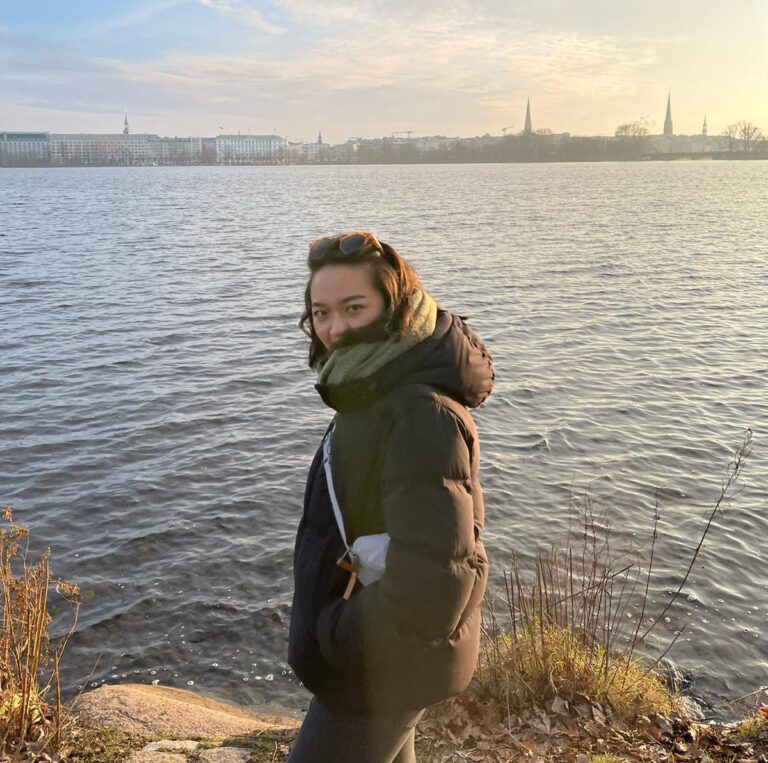 Stella at the Alster